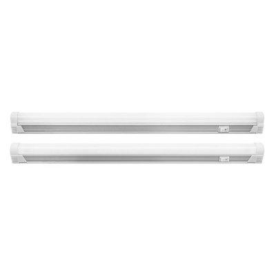 Светильник Navigator 94 571 NEL-T5-10-4K-LEDЛинейные светодиодные светильники<br>Светильник NEL-LED является энергоэффективной заменой линейных люминесцентных светильников и предназначен для подсветки внутренних пространств в жилых, офисных и коммерческих помещениях.    компактный размер   оксидированный алюминиевый корпус   степень защиты IP33, что позволяет использовать светильник в помещениях с повышенной влажностью   широкий диапазон рабочих температур (от – 30 до +40 °С), что позволяет использовать светильник в  морозильных камерах   выключатель на корпусе   безопасность использования (наличие заземления)   удобство подключения с возможностью как гибкого, так и жесткого соединения (стык в стык) светильников в линию до 20 шт   высокая эффективность светодиодов 90 Лм/Вт   высокий коэффициент цветопередачи Ra gt 80   надёжный драйвер с коэффициентом мощности gt 0.9   срок службы 40000 часов.   Светильник NEL-LED является энергоэффективной заменой линейных люминесцентных светильников и предназначен для подсветки внутренних пространств в жилых, офисных и коммерческих помещениях.  Комплект поставки: сетевой провод, гибкий и жёсткий соединители, монтажный комплект, торцевая заглушка, паспорт изделия.<br><br>Цветовая t, К: 4000<br>Тип лампы: светодиодная<br>Ширина, мм: 28<br>Длина, мм: 870<br>Высота, мм: 28<br>MAX мощность ламп, Вт: 10