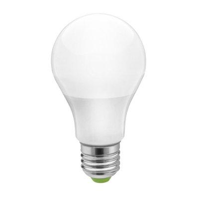 Светодиодная лампа Led Navigator 94 386 NLL-A55-7W-230-4K-E27Стандартный вид<br>Navigator NLL-A60 –светодиодные лампыобщего освещения. Колба лампы грушевидная, матовая. Лампа NLL-A60 повторяет форму и размеры стандартных КЛЛ и ламп накаливания типа «груша» и идеально подходит к любому светильнику, в котором используются данные типы ламп. В светодиодных лампах серии NLL-A60 применяются высокоэффективные планарные светодиоды Epistar, обеспечивающие эффективность до 82 лм/Вт. При этом коэффициент цветопередачи ламп обеспечивается на уровне Ragt; 82.   Ассортиментсветодиодных лампсерии NLL-A60 представлен цветовыми температурами излучаемого света – 2700 K и 4000 К. Применение цилиндрического радиатора с увеличенной площадью рассеивания способствует снижению температуры внутри лампы и как следствие увеличению срока службы лампы. В лампах данной серии применяется высокоэффективный драйвер, построенный на интегральной микросхеме, обеспечивающий стабильную работу при широком диапазоне входных напряжений (170-260В).   Срок службысветодиодных лампNavigator NLL- A60 составляет 30 000 часов.<br><br>Тип товара: Лампа светодиодная NLL LED<br>Скидка, %: 7<br>Цветовая t, К: CW - холодный белый 4000 К<br>Тип лампы: LED - светодиодная<br>Тип цоколя: E27<br>MAX мощность ламп, Вт: 7<br>Диаметр, мм мм: 60<br>Длина, мм: 110<br>Цвет арматуры: алюминиевый радиатор