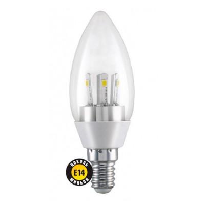 Лампа Navigator 71 293 NLL-C37-5-230-2.7K-E14-CLВ виде свечи<br><br><br>Тип товара: лампа светодиодная LED<br>Цветовая t, К: WW - теплый белый 2700-3000 К<br>Тип лампы: LED - светодиодная<br>Тип цоколя: E14<br>MAX мощность ламп, Вт: 5<br>Диаметр, мм мм: 37<br>Длина, мм: 102