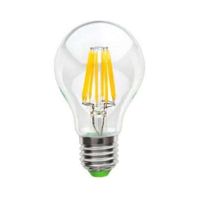 Лампа Navigator 71 305 NLL-F-A60-6-230-2.7K-E27Ретро стиля<br>Navigator NLL-F – светодиодная энергосберегающая лампа общего  и <br>декоративного освещения. Лампы NLL-F повторяют форму и размеры ламп  <br>накаливания «груша», «шарик», «свеча», «витая свеча», «свеча на ветру», <br> и идеально подходят к любому светильнику, в котором используются  <br>данные типы ламп. В светодиодных лампах серии NLL-F применяются  <br>высокоэффективные светодиоды COB Epistar, обеспечивающие  эффективность <br>до 100 лм/ Вт. При этом коэффициент цветопередачи ламп  обеспечивается <br>на уровне Ragt;80. Отсутствует мерцание и пульсация светового потока. <br>Светодиодные модули COB FILAMENT,  применяемые в данной серии ламп, <br>изготовлены на базе сапфировых  и медных подложек, что обеспечивает <br>высокую стабильность светового  потока. Специальная конструкция лампы <br>обеспечивает угол рассеивания  света до 360°. Ассортимент светодиодных <br>ламп серии NLL-F представлен  цветовой температурой излучаемого света – <br>2700 К. В лампах данной серии  применяется высокоэффективный драйвер, <br>построенный на интегральной  микросхеме, обеспечивающий стабильную <br>работу при широком диапазоне  входных напряжений (176–264 В) без <br>пульсаций светового потока. Диапазон рабочих температур окружающей среды<br> от -40 до +40 ?С.    Срок службы светодиодных ламп Navigator NLL-F составляет 30 000 часов.<br><br>Цветовая t, К: WW - теплый белый 2700-3000 К<br>Тип лампы: LED - светодиодная<br>Тип цоколя: E27<br>MAX мощность ламп, Вт: 6<br>Диаметр, мм мм: 60<br>Высота, мм: 105