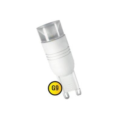 Светодиодна лампа Navigator 94 399 NLL-G9-2.5 W, 220V, 3K белыеКапсульные G9 220v<br>Navigator NLL-G – светодиодна нергосберегаща лампа общего  и декоративного освещени. Колба лампы выполнена в форме капсулы.  Лампа NLL-G повторет форму и размеры стандартных галогенных  капсульных ламп и идеально подходит к лбому светильнику, в котором  использутс данные типы ламп. В светодиодных лампах серии NLL-G  приментс высокоффективные светодиоды Epistar,изготовленные по  технологии chip on board, обеспечиващие ффективность 50 лм/ Вт. При  том коффициент цветопередачи ламп обеспечиваетс на уровне Ragt; 75.  Ассортимент светодиодных ламп серии NLL-G представлен цветовыми  температурами излучаемого света – 3000 К и 4000 К. Специальна конструкци  лампы обеспечивает угол рассеивани света 230°. В лампах серии NLL-G4  применетс высокоффективный драйвер построенный на интегральной  микросхеме, что позволет использовать лампу с трансформаторами  переменного напржени.  Срок службы светодиодных рефлекторных ламп Navigator NLL–G  составлет 30 000 часов.<br><br>Цветова t, К: WW - теплый белый 2700-3000 К<br>Тип лампы: LED - светодиодна<br>Тип цокол: G9<br>MAX мощность ламп, Вт: 2,5<br>Диаметр, мм мм: 18<br>Длина, мм: 50