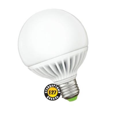Лампа шар Navigator 94 146 NLL-G105-18-230-2.7K-E27В виде шара<br>В интернет-магазине «Светодом» можно купить не только люстры и светильники, но и лампочки. В нашем каталоге представлены светодиодные, галогенные, энергосберегающие модели и лампы накаливания. В ассортименте имеются изделия разной мощности, поэтому у нас Вы сможете приобрести все необходимое для освещения.   Лампа Navigator 94 146 NLL-G105-18-230-2.7K-E27 обеспечит отличное качество освещения. При покупке ознакомьтесь с параметрами в разделе «Характеристики», чтобы не ошибиться в выборе. Там же указано, для каких осветительных приборов Вы можете использовать лампу Navigator 94 146 NLL-G105-18-230-2.7K-E27Navigator 94 146 NLL-G105-18-230-2.7K-E27.   Для оформления покупки воспользуйтесь «Корзиной». При наличии вопросов Вы можете позвонить нашим менеджерам по одному из контактных номеров. Мы доставляем заказы в Москву, Екатеринбург и другие города России.<br><br>Цветовая t, К: CW - холодный белый 4000 К<br>Тип лампы: LED - светодиодная<br>Тип цоколя: E27<br>MAX мощность ламп, Вт: 18<br>Диаметр, мм мм: 105<br>Высота, мм: 140