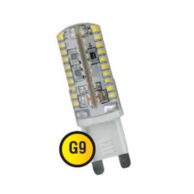 Лампа Navigator 71 360 NLL-S-G9-3-230-4KКапсульные G9 220v<br>Navigator NLL-S-G – светодиодная энергосберегающая лампа общего и <br>декоративного освещения. Колба лампы    выполнена в форме капсулы. Лампа<br> NLL-S-G повторяет форму и размеры стандартных галогенных капсульных <br>ламп и идеально подходит к любому светильнику, в котором используются <br>данные типы ламп.      Основные преимущества   <br><br>Высокоэффективные планарные  светодиоды Epistar, Ragt;70; 80 Лм/Вт  <br>Силиконовый корпус защищает    лампу от механических повреждений,    попадания влаги и пыли  <br>Специальная конструкция  лампы обеспечивает угол  рассеивания света до 360°  <br>Лампа с цоколем G4 обладает  повышенной мощностью от 2,5 до 6 Вт  и рассчитана на работу  от переменного напряжения 220 В  <br>Диапазон рабочих температур окружающей среды от -20 до +40 ?С;<br>Гарантия 2 годаж;<br>Срок службы 30 000 часов.<br><br>Цветовая t, К: CW - холодный белый 4000 К<br>Тип лампы: LED - светодиодная<br>Тип цоколя: G9<br>Диаметр, мм мм: 16<br>Длина, мм: 50<br>MAX мощность ламп, Вт: 3