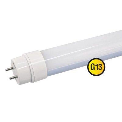 Светодиодная лампа Led Navigator 94 391 NLL-T8-22W-230-4K-G13С цоколем G13<br>Navigator NLL-T8 – светодиодная энергосберегающая лампа общего освещения. Колба лампы цилиндрическая, матовая. Лампа NLL-T8 повторяет форму и размеры стандартных линейных люминесцентных ламп Т8 и идеально подходит к любому светильнику, в котором используются данные типы ламп. Всветодиодных лампахсерии NLL-T8 применяются высокоэффективные планарные светодиоды Epistar, обеспечивающие эффективность 90 лм/ Вт. При этом коэффициент цветопередачи ламп обеспечивается на уровне Ragt; 75.<br><br>Цветовая t, К: CW - холодный белый 4000 К<br>Тип лампы: LED - светодиодная<br>Тип цоколя: G13<br>MAX мощность ламп, Вт: 22<br>Диаметр, мм мм: 28.5<br>Длина, мм: 1199.4<br>Цвет арматуры: алюминиевый радиатор
