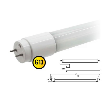 Лампа Navigator 71 302 NLL-G-T8-18-230-4K-G13Люм. лампы т8<br>В интернет-магазине «Светодом» можно купить не только люстры и светильники, но и лампочки. В нашем каталоге представлены светодиодные, галогенные, энергосберегающие модели и лампы накаливания. В ассортименте имеются изделия разной мощности, поэтому у нас Вы сможете приобрести все необходимое для освещения.   Лампа Navigator 71 302 NLL-G-T8-18-230-4K-G13 обеспечит отличное качество освещения. При покупке ознакомьтесь с параметрами в разделе «Характеристики», чтобы не ошибиться в выборе. Там же указано, для каких осветительных приборов Вы можете использовать лампу Navigator 71 302 NLL-G-T8-18-230-4K-G13Navigator 71 302 NLL-G-T8-18-230-4K-G13.   Для оформления покупки воспользуйтесь «Корзиной». При наличии вопросов Вы можете позвонить нашим менеджерам по одному из контактных номеров. Мы доставляем заказы в Москву, Екатеринбург и другие города России.<br><br>Цветовая t, К: CW - холодный белый 4000 К<br>Тип лампы: люминесцентная<br>Тип цоколя: G13<br>MAX мощность ламп, Вт: 18<br>Диаметр, мм мм: 28.5<br>Длина, мм: 1213