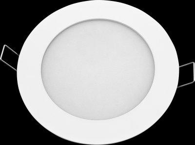 Светильник Navigator 94 343 NLP-R1-6W-840-WH-LEDСветодиодные<br>Светодиодная ультратонкая панель предназначена для освещения внутри помещений. Создает яркий и равномерный свет и обладает компактными размерами, что делает данный светильник идеальным решением любых задач по освещению и световому дизайну.<br>Основные преимущества<br><br>Эффективные и надежные светодиоды EPISTAR (Тайвань) Ragt; 80  70 Лм/Вт <br>Специальная конструкция светильника, обеспечивающая равномерное распределение света <br>Компактный размер – толщина панели 13 мм <br>Надежный драйвер с высоким КПД (PFgt; 0.8) <br>Отсутствие пульсаций светового потока <br>Срок службы 40 000 часов <br>Гарантия 3 года.<br><br>Тип товара: Светильник<br>Цветовая t, К: 4000<br>Тип лампы: LED-светодиодная<br>MAX мощность ламп, Вт: 6<br>Диаметр, мм мм: 120<br>Диаметр врезного отверстия, мм: 110-115<br>Высота, мм: 24<br>Цвет арматуры: белый