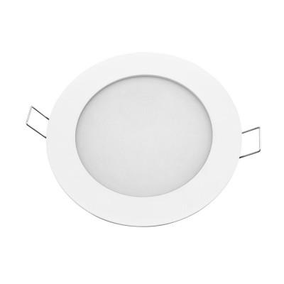 Светильник Navigator 71 374 NLP-R1-7W-R120-830-WH-LED(d120)Светодиодные круглые светильники<br>Светодиодная ультратонкая панель предназначена для освещения внутри <br>помещений. Создает яркий и равномерный свет и обладает компактными <br>размерами, что делает данный светильник идеальным решением любых <br>задач по освещению и световому дизайну.<br>Основные преимущества <br><br>Эффективные и надежные светодиоды EPISTAR (Тайвань) Ragt;80; 70 Лм/Вт; <br>Специальная конструкция светильника, обеспечивающая равномерное распределение света; <br>Компактный размер – толщина панели 13 мм; <br>Надежный драйвер с высоким КПД (PFgt;0.5); <br>Отсутствие мерцания и пульсаций светового потока<br>Диапазон рабочих температур окружающей среды от -30 до +50<br><br>Цветовая t, К: 3000<br>Тип лампы: LED<br>Цвет арматуры: белый<br>Диаметр, мм мм: 120<br>Диаметр врезного отверстия, мм: 115<br>Высота, мм: 24<br>MAX мощность ламп, Вт: 7