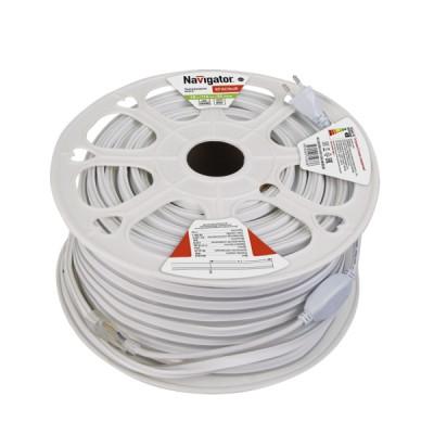 СД Лента Navigator 71 933 NLS-2835R92-9-IP67-220V-NEONLEDВлагозащищенная<br><br><br>Цветовая t, К: Красный<br>Тип лампы: LED<br>Количество ламп: 92 LED/м<br>Длина, мм: 50000<br>MAX мощность ламп, Вт: 9 Вт/м