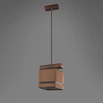 Namat BARSA/4 1263/4 потолочный светильникодиночные подвесные светильники<br><br><br>Крепление: Потолочное<br>Тип цоколя: E27<br>Цвет арматуры: Коричневый<br>Количество ламп: 1<br>Длина, мм: 200<br>Высота, мм: 600<br>MAX мощность ламп, Вт: 60