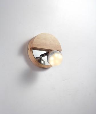 Светильник LED (светодиодный) Lucia Tucci Natura W154.1Одиночные<br>Материал: Дерево/металл/акрил  Design by Marco Rossini Italy  Источник света: LED 1*5W  Особенности:   a) Низкое энергопотребление   b) Яркое свечение по температуре оптимизировано под обычные лампочки накаливания   c) Не нуждается в замене лампочек  Размеры: D170*H150<br><br>S освещ. до, м2: 2<br>Тип цоколя: LED<br>Количество ламп: 1<br>MAX мощность ламп, Вт: 5