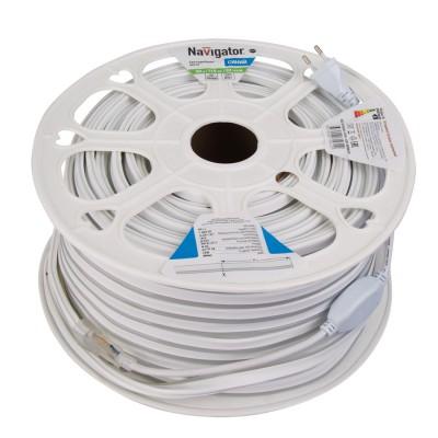СД Лента Navigator 71 931 NLS-2835B92-9-IP67-220V-NEONLEDЛента 3528<br><br><br>Цветовая t, К: Синий<br>Тип лампы: LED<br>Количество ламп: 92 LED/м<br>MAX мощность ламп, Вт: 9 Вт/м