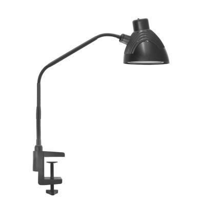 Светильник настольный Navigator 94 638 NDF-C001Настольные лампы на прищепке<br>Настольный светильник на струбцине NDF-С001 мощностью 5 Вт с поворотным плафоном является аналогом классического светильника с лампой накаливания. Специальная конструкция позволяет регулировать светильник по высоте и углу наклона к освещаемой поверхности. В настольных светильниках NDF-С001 используются высокоэффективные светодиоды Lextar (Тайвань) с цветовой температурой 4000 К. Специальный матовый рассеиватель создает мягкий свет без слепящего эффекта. Выключатель находится на плафоне светильника, что делает использование максимально удобным.<br><br>Цветовая t, К: 4000<br>Тип лампы: LED - светодиодная<br>Тип цоколя: LED<br>Цвет арматуры: черный<br>MAX мощность ламп, Вт: 5