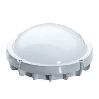 Светильник LED Navigator 94 827 8 ватт, 4 000K, IP65Для подъездов и саун<br>Navigator NBL-LED светодиодный энергосберегающий пылевлагозащищенный светильник. Обладает степенью защиты от пыли и влаги IP65 и может быть использован в помещениях с повышенным содержанием пыли и влаги. Плафон светильника выполненен из матового высокопрочного поликарбоната. Светильник NBL-LED повторяет форму и размеры стандартных светильников НПБ и обладает противоударными свойствами.  В светодиодных светильниках серии NBL-LED применяются высокоэффективные планарные светодиоды Samsung, обеспечивающие эффективность 80 лм/Вт. При этом коэффициент цветопередачи светильника обеспечивается на уровне gt; 80. Ассортимент светодиодных светильников серии NBL-LED представлен цветовой температурой излучаемого света 4000 К. Применение литого алюминиевого корпуса с увеличенной площадью рассеивания способствует снижению температуры внутри светильника и как следствие увеличению его срока службы.   Срок службы светодиодных светильников Navigator NBL-LED составляет 40 000 часов. Предоставляется гарантия 3 года.   Пользователям сайта доступна функция расчета окупаемости светодиодных светильников. <br>NBL-LED<br><br><br><br> Код продукта<br> Мощность, Вт<br> Цвет<br> Напряжение, В<br> Цветовая температура, К<br> Световой поток, лм<br> Коэф. мощн.,cos j<br> Длина L, мм<br> Ширина B, мм<br> Высота H, мм<br> Количество, штук в коробке<br> Штрихкод<br><br><br> NBL-R1-8-4K-WH-IP65-LED <br> 8 <br> Белый <br> 150-250 <br> 4000 <br> 560 <br> gt; 0.7 <br> 171 <br> 171 <br> 77 <br> 10 <br> 4607136 94827 3 <br><br><br> NBL-O1-8-4K-WH-IP65-LED<br> 8<br> Белый<br> 150-250<br> 4000<br> 560<br> gt; 0.7<br> 175<br> 110<br> 76<br> 10<br> 4607136 94828 0<br><br><br> NBL-R1-12-4K-WH-IP65-LED<br> 12<br> Белый<br> 150-250<br> 4000<br> 960<br> gt; 0.9<br> 175<br> 175<br> 75<br> 10<br> 4607136 94826 6<br><br>Цветовая t, К: 4000<br>Тип лампы: LED-светодиодная<br>Диаметр, мм мм: 171<br>Расстояние от стены, мм: 77<br>Высота, мм: 77<br