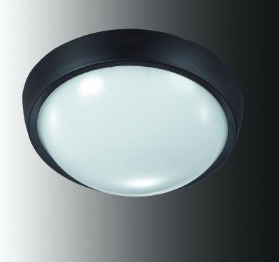 Накладной светильник Novotech 357184Настенные<br><br><br>Тип товара: Накладной светильник<br>Тип лампы: LED - светодиодная<br>MAX мощность ламп, Вт: 12<br>Диаметр, мм мм: 165<br>Высота, мм: 70<br>Цвет арматуры: черный