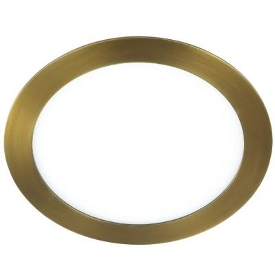 Novotech LANTE 357289 ЛюстраКруглые LED<br>Встраиваемый светодиодный светильник со встроенным драйвером модели Novotech 357289 из серии LANTE отличается следующим качеством: Корпус светильника произведен из алюминия. Это металл, основными  достоинствами которого являются — устойчивость к практически всем видам негативного воздействия окружающей среды, коррозии. Небольшой вес, по сравнению с другими видами металла и   экологическая безопасность материала. Рассеиватель сделан из  акрила. Основными свойствами которого являются: высокая светопропускаемость — 92 %, которая не изменяется с течением времени, сохраняя свой оригинальный цвет, сопротивляемость удару в 5 раз больше, чем у стекла, устойчивость к воздействию влаги, бактерий и микроорганизмов, морозостойкость и экологичность. Срок службы светодиодов до 25000 часов.<br><br>Цветовая t, К: 3000<br>Тип лампы: галогеновая, светодиодная<br>Тип цоколя: LED<br>Количество ламп: 1<br>MAX мощность ламп, Вт: 150<br>Диаметр, мм мм: 170<br>Высота, мм: 20<br>Поверхность арматуры: матовый<br>Цвет арматуры: бронзовый