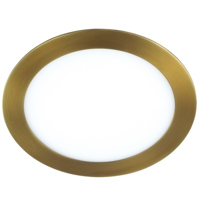 Novotech LANTE 357291 светильникКруглые LED<br>Встраиваемый светодиодный светильник со встроенным драйвером модели Novotech 357291 из серии LANTE отличается следующим качеством: Корпус светильника произведен из алюминия. Это металл, основными  достоинствами которого являются — устойчивость к практически всем видам негативного воздействия окружающей среды, коррозии. Небольшой вес, по сравнению с другими видами металла и   экологическая безопасность материала. Рассеиватель сделан из  акрила. Основными свойствами которого являются: высокая светопропускаемость — 92 %, которая не изменяется с течением времени, сохраняя свой оригинальный цвет, сопротивляемость удару в 5 раз больше, чем у стекла, устойчивость к воздействию влаги, бактерий и микроорганизмов, морозостойкость и экологичность. Срок службы светодиодов до 25000 часов.<br><br>Цветовая t, К: 3000<br>Тип лампы: галогеновая, светодиодная<br>Тип цоколя: LED<br>Цвет арматуры: бронзовый<br>Количество ламп: 1<br>Диаметр, мм мм: 225<br>Высота, мм: 20<br>Поверхность арматуры: матовый<br>MAX мощность ламп, Вт: 250