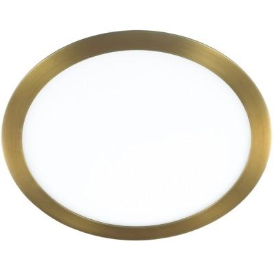 Novotech LANTE 357292 светильникСветодиодные круглые светильники<br>Встраиваемый светодиодный светильник со встроенным драйвером модели Novotech 357292 из серии LANTE отличается следующим качеством: Корпус светильника произведен из алюминия. Это металл, основными  достоинствами которого являются — устойчивость к практически всем видам негативного воздействия окружающей среды, коррозии. Небольшой вес, по сравнению с другими видами металла и   экологическая безопасность материала. Рассеиватель сделан из  акрила. Основными свойствами которого являются: высокая светопропускаемость — 92 %, которая не изменяется с течением времени, сохраняя свой оригинальный цвет, сопротивляемость удару в 5 раз больше, чем у стекла, устойчивость к воздействию влаги, бактерий и микроорганизмов, морозостойкость и экологичность. Срок службы светодиодов до 25000 часов.<br><br>Цветовая t, К: 3000<br>Тип лампы: галогеновая, светодиодная<br>Тип цоколя: LED<br>Цвет арматуры: бронзовый<br>Количество ламп: 1<br>Диаметр, мм мм: 300<br>Высота, мм: 20<br>Поверхность арматуры: матовый<br>MAX мощность ламп, Вт: 300