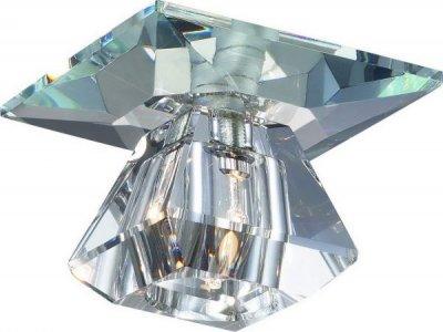 Novotech CRYSTAL 369423 Встраиваемый светильникКвадратные<br>Встраиваемые светильники – популярное осветительное оборудование, которое можно использовать в качестве основного источника или в дополнение к люстре. Они позволяют создать нужную атмосферу атмосферу и привнести в интерьер уют и комфорт.   Интернет-магазин «Светодом» предлагает стильный встраиваемый светильник Novotech 369423. Данная модель достаточно универсальна, поэтому подойдет практически под любой интерьер. Перед покупкой не забудьте ознакомиться с техническими параметрами, чтобы узнать тип цоколя, площадь освещения и другие важные характеристики.   Приобрести встраиваемый светильник Novotech 369423 в нашем онлайн-магазине Вы можете либо с помощью «Корзины», либо по контактным номерам. Мы развозим заказы по Москве, Екатеринбургу и остальным российским городам.<br><br>S освещ. до, м2: 2<br>Тип лампы: галогенная<br>Тип цоколя: G4<br>Количество ламп: 1<br>MAX мощность ламп, Вт: 20<br>Диаметр, мм мм: 70<br>Диаметр врезного отверстия, мм: 58<br>Высота, мм: 75<br>Цвет арматуры: серебристый