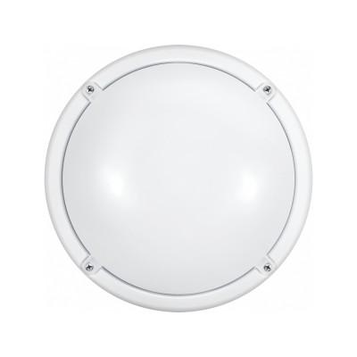 Светильник ОНЛАЙТ 71 622 OBL-R1-7-4K-WH-IP65-LED-SNRVкруглые светильники<br><br><br>Цветовая t, К: 4000<br>Тип лампы: LED<br>Цвет арматуры: белый<br>Диаметр, мм мм: 174<br>Высота, мм: 70<br>MAX мощность ламп, Вт: 7