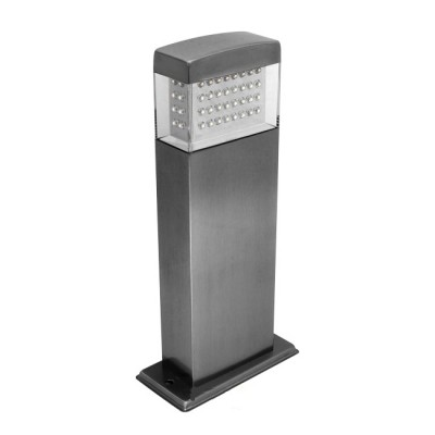 Светильник OL-128P2 LED IP44Одиночные столбы<br>Обеспечение качественного уличного освещения – важная задача для владельцев коттеджей. Компания «Светодом» предлагает современные светильники, которые порадуют Вас отличным исполнением. В нашем каталоге представлена продукция известных производителей, пользующихся популярностью благодаря высокому качеству выпускаемых товаров. <br> Уличный светильник Degran OL-128P2 LED IP44 не просто обеспечит качественное освещение, но и станет украшением Вашего участка. Модель выполнена из современных материалов и имеет влагозащитный корпус, благодаря которому ей не страшны осадки. <br> Купить уличный светильник Degran OL-128P2 LED IP44, представленный в нашем каталоге, можно с помощью онлайн-формы для заказа. Чтобы задать имеющиеся вопросы, звоните нам по указанным телефонам.<br><br>Тип лампы: LED - светодиодная<br>Количество ламп: 80 LED<br>Ширина, мм: 140<br>Длина, мм: 75<br>Высота, мм: 300