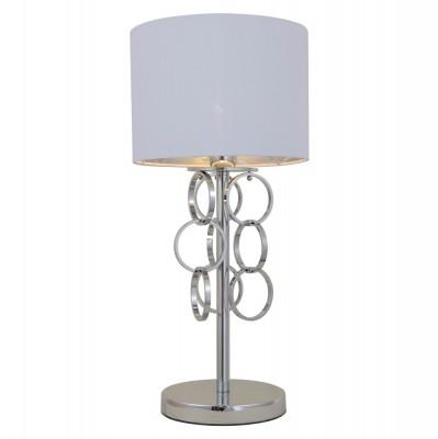Настольная лампа Crystal lux OLIMPO TL1 2580/501Современные настольные лампы модерн<br>Настольная лампа – это не просто источник дополнительного освещения, но и оригинальный элемент декора. Его можно установить в спальне, гостиной, кабинете и других комнатах. Интернет-магазин «Светодом» предлагает настольные лампы разных стилей по доступным ценам. Благодаря большому ассортименту Вы обязательно найдете в нашем каталоге именно ту модель, которую искали.   Настольная лампа Crystal lux OLIMPO TL1  – прекрасный вариант для завершения интерьера. Ее можно включить одновременно с люстрой для более яркого освещения или без нее для создания уютной атмосферы, настраивающей на отдых.   Купить настольную лампу Crystal lux OLIMPO TL1  Вы можете с помощью виртуальной «Корзины» или по контактным номерам, указанным на сайте.<br><br>Тип цоколя: E27<br>Цвет арматуры: Серебристый хром<br>Количество ламп: 1<br>Диаметр, мм мм: 250<br>Высота, мм: 500<br>MAX мощность ламп, Вт: 60