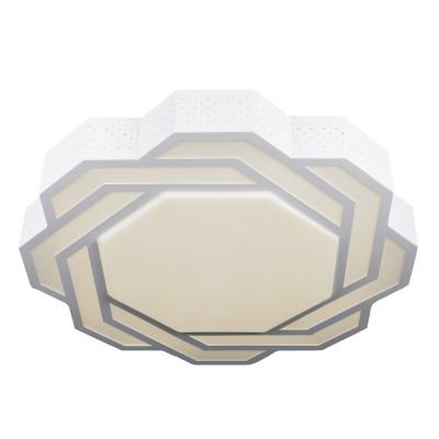 Omnilux OML-43607-59 СветильникПотолочные<br>Компания «Светодом» предлагает широкий ассортимент люстр от известных производителей. Представленные в нашем каталоге товары выполнены из современных материалов и обладают отличным качеством. Благодаря широкому ассортименту Вы сможете найти у нас люстру под любой интерьер. Мы предлагаем как классические варианты, так и современные модели, отличающиеся лаконичностью и простотой форм. <br>Стильная люстра Omnilux OML-43607-59 станет украшением любого дома. Эта модель от известного производителя не оставит равнодушным ценителей красивых и оригинальных предметов интерьера. Люстра Omnilux OML-43607-59 обеспечит равномерное распределение света по всей комнате. При выборе обратите внимание на характеристики, позволяющие приобрести наиболее подходящую модель. <br>Купить понравившуюся люстру по доступной цене Вы можете в интернет-магазине «Светодом».<br><br>Установка на натяжной потолок: Да<br>S освещ. до, м2: 20<br>Крепление: Планка<br>Цветовая t, К: CW - холодный белый 4000 К<br>Тип лампы: LED<br>Тип цоколя: LED<br>Цвет арматуры: белый<br>Количество ламп: 1<br>Диаметр, мм мм: 700<br>Высота, мм: 90<br>MAX мощность ламп, Вт: 59