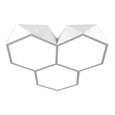 Omnilux OML-45307-60 СветильникПотолочные<br>Компания «Светодом» предлагает широкий ассортимент люстр от известных производителей. Представленные в нашем каталоге товары выполнены из современных материалов и обладают отличным качеством. Благодаря широкому ассортименту Вы сможете найти у нас люстру под любой интерьер. Мы предлагаем как классические варианты, так и современные модели, отличающиеся лаконичностью и простотой форм.  Стильная люстра Omnilux OML-45307-60 станет украшением любого дома. Эта модель от известного производителя не оставит равнодушным ценителей красивых и оригинальных предметов интерьера. Люстра Omnilux OML-45307-60 обеспечит равномерное распределение света по всей комнате. При выборе обратите внимание на характеристики, позволяющие приобрести наиболее подходящую модель. Купить понравившуюся люстру по доступной цене Вы можете в интернет-магазине «Светодом». Мы предлагаем доставку не только по Москве и Екатеринбурге, но и по всей России.<br><br>Установка на натяжной потолок: Да<br>S освещ. до, м2: 24<br>Крепление: Планка<br>Цветовая t, К: WW - теплый белый 2700-3000 К<br>Тип лампы: LED<br>Тип цоколя: LED<br>Цвет арматуры: белый<br>Количество ламп: 1<br>Диаметр, мм мм: 730<br>Высота, мм: 90<br>MAX мощность ламп, Вт: 60
