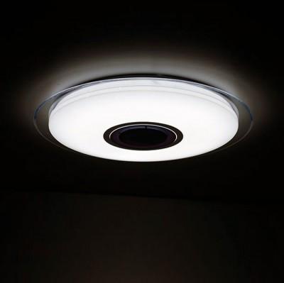 Omnilux OML-47307-52 СветильникПотолочные<br><br><br>S освещ. до, м2: 21<br>Тип лампы: LED<br>Тип цоколя: LED<br>Диаметр, мм мм: 555<br>Высота, мм: 75<br>MAX мощность ламп, Вт: 52