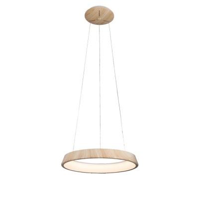 Светильник Omnilux oml-48603-50Подвесные<br><br><br>Установка на натяжной потолок: Да<br>S освещ. до, м2: 20<br>Тип лампы: LED<br>Тип цоколя: LED<br>Диаметр, мм мм: 600<br>Высота, мм: 200 - 1200<br>MAX мощность ламп, Вт: 50