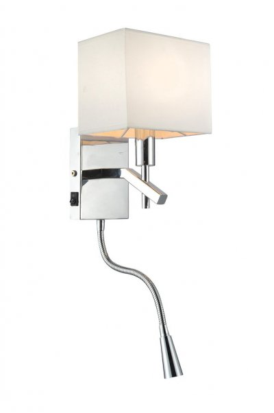 Omnilux OML-61801-02 СветильникСовременные<br>В интернет-магазине «Светодом» представлен широкий выбор настенных бра по привлекательной цене. Это качественные товары от популярных мировых производителей. Благодаря большому ассортименту Вы обязательно подберете под свой интерьер наиболее подходящий вариант.  Оригинальное настенное бра Omnilux OML-61801-02 можно использовать для освещения не только гостиной, но и прихожей или спальни. Модель выполнена из современных материалов, поэтому прослужит на протяжении долгого времени. Обратите внимание на технические характеристики, чтобы сделать правильный выбор.  Чтобы купить настенное бра Omnilux OML-61801-02 в нашем интернет-магазине, воспользуйтесь «Корзиной» или позвоните менеджерам компании «Светодом» по указанным на сайте номерам. Мы доставляем заказы по Москве, Екатеринбургу и другим российским городам.<br><br>Тип цоколя: E14<br>Цвет арматуры: серебристый<br>Количество ламп: 1<br>Ширина, мм: 170<br>Выступ, мм: 165<br>Высота, мм: 440<br>MAX мощность ламп, Вт: 40