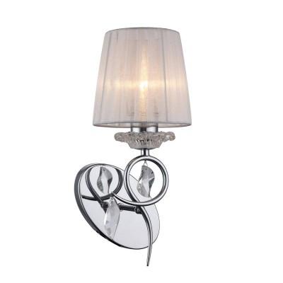 Omnilux OML-61901-01 СветильникКлассические<br><br><br>Тип лампы: Накаливания / энергосбережения / светодиодная<br>Тип цоколя: E27<br>Количество ламп: 1<br>Ширина, мм: 160<br>Расстояние от стены, мм: 190<br>Высота, мм: 374<br>MAX мощность ламп, Вт: 40