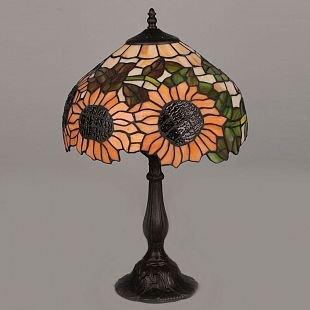 Omnilux Sunflower OML-80404-01 Лампа настольнаяТиффани<br>Настольная лампа – это не просто источник дополнительного освещения, но и оригинальный элемент декора. Его можно установить в спальне, гостиной, кабинете и других комнатах. Интернет-магазин «Светодом» предлагает настольные лампы разных стилей по доступным ценам. Благодаря большому ассортименту Вы обязательно найдете в нашем каталоге именно ту модель, которую искали.   Настольная лампа Omnilux OML-80404-01 – прекрасный вариант для завершения интерьера. Ее можно включить одновременно с люстрой для более яркого освещения или без нее для создания уютной атмосферы, настраивающей на отдых.   Купить настольную лампу Omnilux OML-80404-01 Вы можете с помощью виртуальной «Корзины» или по контактным номерам, указанным на сайте.<br><br>Тип лампы: накал-я - энергосбер-я<br>Тип цоколя: E27<br>Количество ламп: 1<br>Диаметр, мм мм: 300<br>Размеры: D 300 H 500<br>Высота, мм: 500<br>MAX мощность ламп, Вт: 60