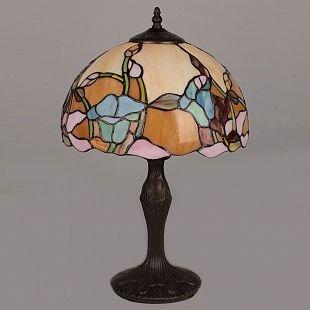 Omnilux Bluebell OML-80904-01 Лампа настольнаяТиффани<br>Настольная лампа – это не просто источник дополнительного освещения, но и оригинальный элемент декора. Его можно установить в спальне, гостиной, кабинете и других комнатах. Интернет-магазин «Светодом» предлагает настольные лампы разных стилей по доступным ценам. Благодаря большому ассортименту Вы обязательно найдете в нашем каталоге именно ту модель, которую искали.   Настольная лампа Omnilux OML-80904-01 – прекрасный вариант для завершения интерьера. Ее можно включить одновременно с люстрой для более яркого освещения или без нее для создания уютной атмосферы, настраивающей на отдых.   Купить настольную лампу Omnilux OML-80904-01 Вы можете с помощью виртуальной «Корзины» или по контактным номерам, указанным на сайте.<br><br>Тип лампы: накал-я - энергосбер-я<br>Тип цоколя: E27<br>Количество ламп: 1<br>Диаметр, мм мм: 300<br>Размеры: D 300 H 500<br>Высота, мм: 500<br>MAX мощность ламп, Вт: 60