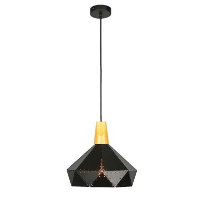 Omnilux OML-90306-01 Светильникодиночные подвесные светильники<br><br><br>S освещ. до, м2: 3<br>Тип лампы: Накаливания / энергосбережения / светодиодная<br>Тип цоколя: E27<br>Количество ламп: 1<br>Диаметр, мм мм: 310<br>Высота, мм: 500 - 1100<br>MAX мощность ламп, Вт: 60