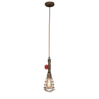 Omnilux OML-90516-01 Светильникодиночные подвесные светильники<br><br><br>S освещ. до, м2: 3<br>Тип лампы: Накаливания / энергосбережения / светодиодная<br>Тип цоколя: E27<br>Количество ламп: 1<br>Диаметр, мм мм: 120<br>Высота, мм: 400 - 1300<br>MAX мощность ламп, Вт: 60