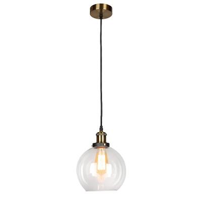 Omnilux OML-90706-01 Светильникодиночные подвесные светильники<br><br><br>S освещ. до, м2: 3<br>Тип лампы: Накаливания / энергосбережения / светодиодная<br>Тип цоколя: E27<br>Количество ламп: 1<br>Диаметр, мм мм: 200<br>Высота, мм: 400 - 1100<br>MAX мощность ламп, Вт: 60