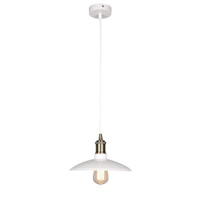 Omnilux OML-90816-01 Светильникодиночные подвесные светильники<br><br><br>Тип лампы: Накаливания / энергосбережения / светодиодная<br>Тип цоколя: E27<br>Диаметр, мм мм: 260<br>Высота, мм: 300 - 1100<br>MAX мощность ламп, Вт: 60