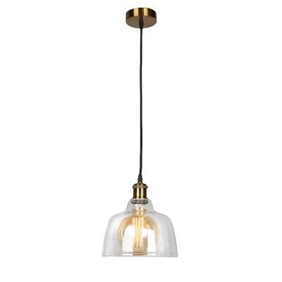 Omnilux OML-90906-01 Светильникодиночные подвесные светильники<br><br><br>S освещ. до, м2: 3<br>Тип лампы: Накаливания / энергосбережения / светодиодная<br>Тип цоколя: E27<br>Количество ламп: 1<br>Диаметр, мм мм: 220<br>Высота, мм: 400 - 1100<br>MAX мощность ламп, Вт: 60