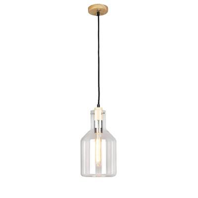 Omnilux OML-91006-01 Светильникодиночные подвесные светильники<br><br><br>S освещ. до, м2: 3<br>Тип лампы: Накаливания / энергосбережения / светодиодная<br>Тип цоколя: E27<br>Количество ламп: 1<br>Диаметр, мм мм: 170<br>Высота, мм: 500 - 1100<br>MAX мощность ламп, Вт: 60