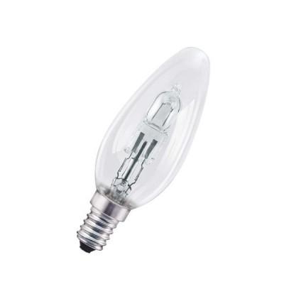 OSRAM 64543 B ES 46W (=60W) 230V E14 630lm 2000h d35x104 998187Напряжения 220V<br>В интернет-магазине «Светодом» можно купить не только люстры и светильники, но и лампочки. В нашем каталоге представлены светодиодные, галогенные, энергосберегающие модели и лампы накаливания. В ассортименте имеются изделия разной мощности, поэтому у нас Вы сможете приобрести все необходимое для освещения.   Лампа OSRAM 64543 B ES 46W (=60W) 230V E14 630lm 2000h d35x104 998187 обеспечит отличное качество освещения. При покупке ознакомьтесь с параметрами в разделе «Характеристики», чтобы не ошибиться в выборе. Там же указано, для каких осветительных приборов Вы можете использовать лампу OSRAM 64543 B ES 46W (=60W) 230V E14 630lm 2000h d35x104 998187OSRAM 64543 B ES 46W (=60W) 230V E14 630lm 2000h d35x104 998187.   Для оформления покупки воспользуйтесь «Корзиной». При наличии вопросов Вы можете позвонить нашим менеджерам по одному из контактных номеров. Мы доставляем заказы в Москву, Екатеринбург и другие города России.<br><br>Тип лампы: галогенная<br>Тип цоколя: E14<br>MAX мощность ламп, Вт: 46<br>Диаметр, мм мм: 35<br>Высота, мм: 104