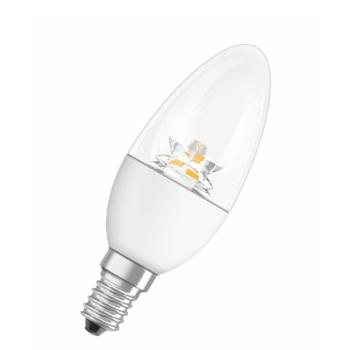 OSRAM PARA CLB25 4.5W/927 220-240V WW E14В виде свечи<br>В интернет-магазине «Светодом» можно купить не только люстры и светильники, но и лампочки. В нашем каталоге представлены светодиодные, галогенные, энергосберегающие модели и лампы накаливания. В ассортименте имеются изделия разной мощности, поэтому у нас Вы сможете приобрести все необходимое для освещения.   Лампа OSRAM PARA CLB25 4.5W/927 220-240V WW E14 обеспечит отличное качество освещения. При покупке ознакомьтесь с параметрами в разделе «Характеристики», чтобы не ошибиться в выборе. Там же указано, для каких осветительных приборов Вы можете использовать лампу OSRAM PARA CLB25 4.5W/927 220-240V WW E14OSRAM PARA CLB25 4.5W/927 220-240V WW E14.   Для оформления покупки воспользуйтесь «Корзиной». При наличии вопросов Вы можете позвонить нашим менеджерам по одному из контактных номеров. Мы доставляем заказы в Москву, Екатеринбург и другие города России.<br><br>Тип лампы: LED<br>Тип цоколя: E14<br>Диаметр, мм мм: 38<br>Высота, мм: 105<br>MAX мощность ламп, Вт: 4.5