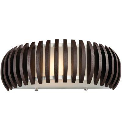 Светильник Odeon light 2200/1WМодерн<br><br><br>S освещ. до, м2: 4<br>Крепление: настенное<br>Тип товара: Светильник настенный бра<br>Тип лампы: накаливания / энергосбережения / LED-светодиодная<br>Тип цоколя: E27<br>Количество ламп: 1<br>Ширина, мм: 340<br>MAX мощность ламп, Вт: 60<br>Расстояние от стены, мм: 120<br>Высота, мм: 140<br>Оттенок (цвет): белый<br>Цвет арматуры: деревянный