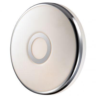Светильник Odeon light 2401/2CКруглые<br>Настенно-потолочный светильник Odeon light 2401/2C предназначен для ценителей «минимализма» в оформлении интерьера. Круглая форма, напоминающая диск, прекрасно сочетается со светлыми оттенками и подходит в любую комнату – от гостиной до спальни и кухни. Площадь освещения составляет 5 кв.м., поэтому рекомендуем использовать этот источник света в качестве настенного бра, добавив к нему несколько аналогичных моделей и потолочный светильник из этой же серии – тогда комната станет по-настоящему уютной и стильной.<br><br>S освещ. до, м2: 5<br>Крепление: настенное<br>Тип товара: Светильник настенно-потолочный<br>Тип лампы: накаливания / энергосбережения / LED-светодиодная<br>Тип цоколя: E27<br>Количество ламп: 2<br>MAX мощность ламп, Вт: 40<br>Диаметр, мм мм: 300<br>Высота, мм: 105<br>Оттенок (цвет): белый<br>Цвет арматуры: серебристый