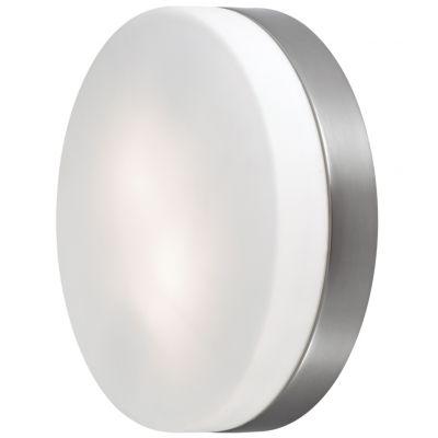 Светильник Odeon light 2405/2Aкруглые светильники<br>Дополнить современный стиль интерьера, сделать световой акцент на части стены, подчеркнуть архитектурные особенности Вам поможет настенный светильник Odeon light 2405/2А. Универсальная круглая форма, сочетание «металлического» и матового белого оттенков, отсутствие «утяжеляющих» конструкцию декоративных деталей, делают этот осветительный прибор подходящим в любую по функциональному назначению комнату. Благодаря «цельному» плафону, светильник легко очистить от загрязнений – достаточно протереть поверхность влажной салфеткой, поэтому его можно смело использовать даже на кухне.<br><br>S освещ. до, м2: 8<br>Крепление: настенное<br>Тип лампы: накаливания / энергосбережения / LED-светодиодная<br>Тип цоколя: E27<br>Цвет арматуры: серый<br>Количество ламп: 2<br>Диаметр, мм мм: 380<br>Высота, мм: 90<br>Оттенок (цвет): белый<br>MAX мощность ламп, Вт: 60