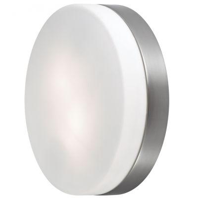 Светильник Odeon light 2405/2CКруглые<br>Дополнить современный стиль интерьера, сделать световой акцент на части стены, подчеркнуть архитектурные особенности Вам поможет настенный светильник Odeon light 2405/2С. Универсальная круглая форма, сочетание «металлического» и матового белого оттенков, отсутствие «утяжеляющих» конструкцию декоративных деталей, делают этот осветительный прибор подходящим в любую по функциональному назначению комнату. Благодаря «цельному» плафону, светильник легко очистить от загрязнений – достаточно протереть поверхность влажной салфеткой, поэтому его можно смело использовать даже на кухне.<br><br>S освещ. до, м2: 5<br>Крепление: настенное<br>Тип лампы: накаливания / энергосбережения / LED-светодиодная<br>Тип цоколя: E14<br>Количество ламп: 2<br>MAX мощность ламп, Вт: 40<br>Диаметр, мм мм: 285<br>Высота, мм: 75<br>Оттенок (цвет): белый<br>Цвет арматуры: серый