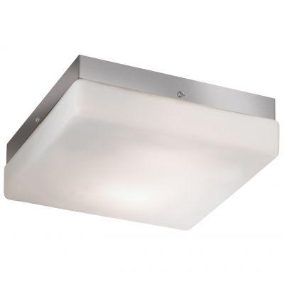 Светильник Odeon light 2406/2CКвадратные<br>Если Вы находитесь в поисках практичного и удобного осветительного прибора, который можно использовать как на стене, так и в качестве потолочного, то светильник Odeon light 2406/2C соответствует всем параметрам! «Универсальная» квадратная форма подходит к каждому интерьерному стилю, и одинаково хорошо будет смотреться как в гостиной и спальне, так и в прихожей или ванной комнате. Светлые оттенки легко впишутся в любую цветовую гамму. Площадь освещения составляет 5 кв.м., поэтому светильник может играть роль как в качестве потолочного источника света, так и в качестве настенного бра.<br><br>S освещ. до, м2: 5<br>Крепление: потолочное<br>Тип лампы: накаливания / энергосбережения / LED-светодиодная<br>Тип цоколя: E14<br>Количество ламп: 2<br>Ширина, мм: 250<br>MAX мощность ламп, Вт: 40<br>Длина, мм: 250<br>Высота, мм: 80<br>Оттенок (цвет): белый<br>Цвет арматуры: серый