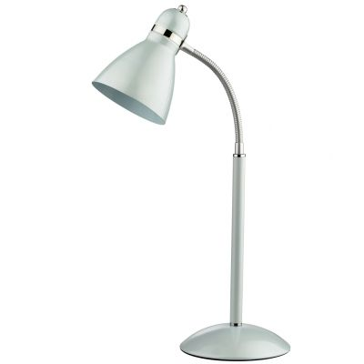 Настольная лампа Odeon light 2411/1TОфисные<br>Настольная лампа – это не просто источник дополнительного освещения, но и оригинальный элемент декора. Его можно установить в спальне, гостиной, кабинете и других комнатах. Интернет-магазин «Светодом» предлагает настольные лампы разных стилей по доступным ценам. Благодаря большому ассортименту Вы обязательно найдете в нашем каталоге именно ту модель, которую искали.   Настольная лампа Odeon light 2411/1T  – прекрасный вариант для завершения интерьера. Ее можно включить одновременно с люстрой для более яркого освещения или без нее для создания уютной атмосферы, настраивающей на отдых.   Купить настольную лампу Odeon light 2411/1T  Вы можете с помощью виртуальной «Корзины» или по контактным номерам, указанным на сайте.<br><br>S освещ. до, м2: 4<br>Тип лампы: накал-я - энергосбер-я<br>Тип цоколя: E27<br>Количество ламп: 1<br>Ширина, мм: 170<br>MAX мощность ламп, Вт: 60<br>Высота, мм: 530<br>Оттенок (цвет): белый<br>Цвет арматуры: белый