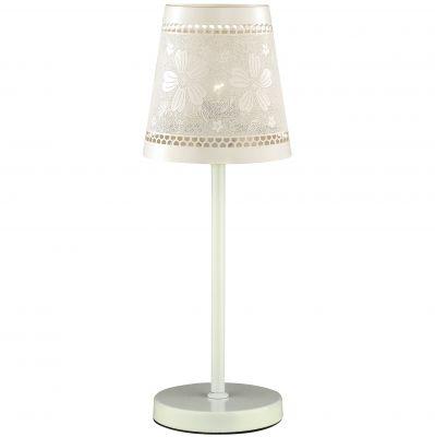 Настольная лампа Odeon light 2422/1TФлористика<br>Настольная лампа – это не просто источник дополнительного освещения, но и оригинальный элемент декора. Его можно установить в спальне, гостиной, кабинете и других комнатах. Интернет-магазин «Светодом» предлагает настольные лампы разных стилей по доступным ценам. Благодаря большому ассортименту Вы обязательно найдете в нашем каталоге именно ту модель, которую искали.   Настольная лампа Odeon light 2422/1T  – прекрасный вариант для завершения интерьера. Ее можно включить одновременно с люстрой для более яркого освещения или без нее для создания уютной атмосферы, настраивающей на отдых.   Купить настольную лампу Odeon light 2422/1T  Вы можете с помощью виртуальной «Корзины» или по контактным номерам, указанным на сайте.<br><br>S освещ. до, м2: 2<br>Тип лампы: накаливания / энергосбережения / LED-светодиодная<br>Тип цоколя: E27<br>Количество ламп: 1<br>MAX мощность ламп, Вт: 40<br>Диаметр, мм мм: 200<br>Высота, мм: 520<br>Оттенок (цвет): белый<br>Цвет арматуры: белый