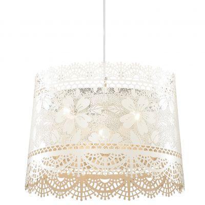 Люстра Odeon light 2422/3Подвесные<br><br><br>Установка на натяжной потолок: Да<br>S освещ. до, м2: 12<br>Крепление: Планка<br>Тип товара: Люстра подвесная<br>Тип лампы: накаливания / энергосбережения / LED-светодиодная<br>Тип цоколя: E14<br>Количество ламп: 3<br>MAX мощность ламп, Вт: 40<br>Диаметр, мм мм: 390<br>Высота, мм: 1100<br>Оттенок (цвет): белый<br>Цвет арматуры: белый