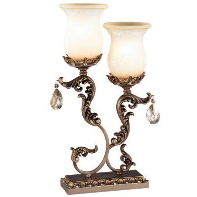 Настольная лампа Odeon light 2430/2TВосточный стиль<br>Настольная лампа – это не просто источник дополнительного освещения, но и оригинальный элемент декора. Его можно установить в спальне, гостиной, кабинете и других комнатах. Интернет-магазин «Светодом» предлагает настольные лампы разных стилей по доступным ценам. Благодаря большому ассортименту Вы обязательно найдете в нашем каталоге именно ту модель, которую искали.   Настольная лампа Odeon light 2430/2T  – прекрасный вариант для завершения интерьера. Ее можно включить одновременно с люстрой для более яркого освещения или без нее для создания уютной атмосферы, настраивающей на отдых.   Купить настольную лампу Odeon light 2430/2T  Вы можете с помощью виртуальной «Корзины» или по контактным номерам, указанным на сайте.<br><br>S освещ. до, м2: 8<br>Тип лампы: накаливания / энергосбережения / LED-светодиодная<br>Тип цоколя: E27<br>Количество ламп: 2<br>Ширина, мм: 290<br>MAX мощность ламп, Вт: 60<br>Высота, мм: 540<br>Оттенок (цвет): бежевый<br>Цвет арматуры: бронзовый
